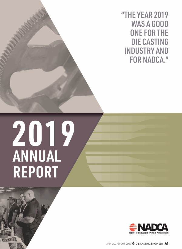 2019 NADCA Annual Report Cover